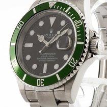 Rolex Oyster Perpetual Submariner LV Date grüne Lünette Ref....