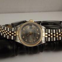 Rolex Lady acciaio oro ref. 69173 anno 1991 diamond compur