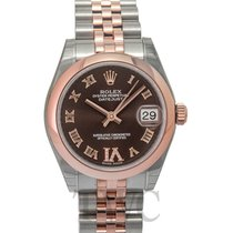 Rolex Datejust Lady 31 Chrocolate Steel/18k Rose Gold Dia 31mm...