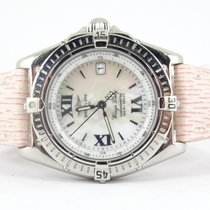 Breitling Wings Lady mop dial new strap
