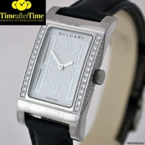 宝格丽 (Bulgari) Rettangolo White Gold Diamons