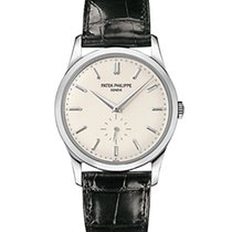 Patek Philippe 5196G White Gold Men Calatrava 37mm [NEW]