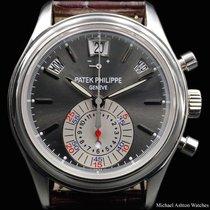 Patek Philippe Ref# 5960P Chronograph Grey Dial