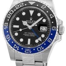 "Rolex ""GMT Master II"" Blue/Black Bezel."