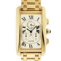까르띠에 (Cartier) Gold Tank Americaine Chronograph