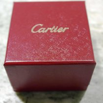 Cartier vintage ring box red leather newoldstock