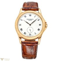 Patek Philippe Calatrava 18K Yellow Gold Men`s Watch