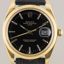 Rolex Date Black Dial full set