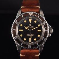 Rolex Submariner Gilt 5513 Tropical Full Set