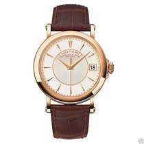 Patek Philippe Mens Calatrava 5153R-001 18K Rose Gold 38mm NEW