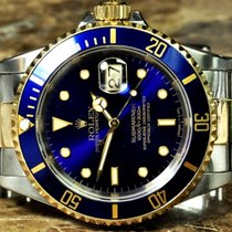 Rolex Submariner with Blue Dial / Blue Bezel