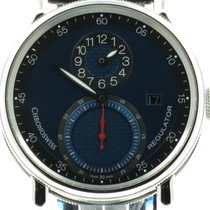 "Chronoswiss ""Sirius Regulator Classic Date"" Blue dail...."