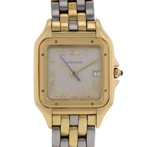 Cartier Panthère en or et acier Ref : 1060 Vers 1990
