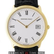 Audemars Piguet Classic Dress Watch 18k Yellow Gold 31mm White...