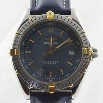 Breitling Antares Herren Uhr Automatik Stahl/gold B10048 Top...