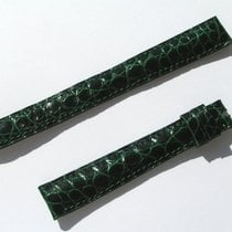 Chopard Croco Band Strap Green 14 Mm 77/115 New C14-08 -70%