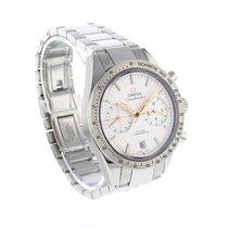 Omega Speedmaster 57 chronograph white dial steel