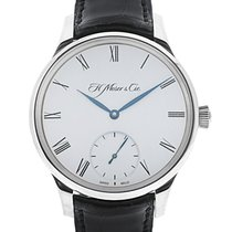 H.Moser & Cie. & Cie Venturer Small Seconds 18K White Gold...