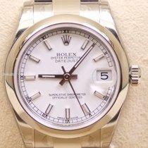 Rolex Datejust, Ref. 178240 - weiss Index Zifferblatt/ Oysterband