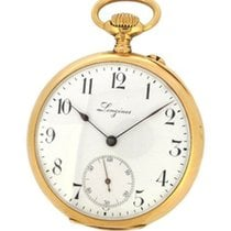 Longines 18K Gold Pocket Watch 5th Paris Grands Prix, Small...