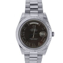 Rolex Day-Date II President 18K Solid White Gold