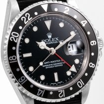 Rolex SS GMT Master ll NATO Strap 16710 Model