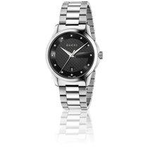Gucci G-Timeless Restyle Cadran Noir 38 mm Acier YA126456