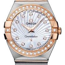 Omega Constellation Brushed 27mm 123.25.27.60.55.002