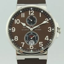 Ulysse Nardin Maxi Marine Brown Chronometer Automatic 263-66