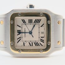Cartier Santos Galbee Midsize 27mm Ref: 1566 (Box&Papers...