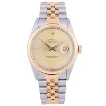 Rolex Pre-Owned Bi Metal DateJust 16013 1988 Model