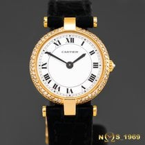 Cartier Paris Ronde Vendome 24mm 18K Gold Box
