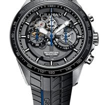 Graham Silverstone RS Skeleton Stainless Steel Men`s Watch