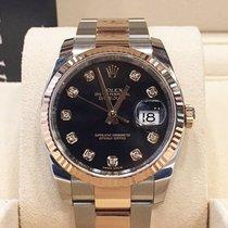 Rolex Datejust Black 10 Diamonds