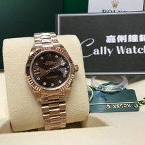 Rolex Cally - New 2017 28mm Datejust 279175 Brown G17 IX  啡星星