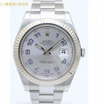 롤렉스 (Rolex) ロレックス デイトジャストU 116334 ロジウムアラビア ランダム