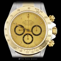 Rolex Daytona 18K & Stainless 16523 w/ 2 Year Warranty