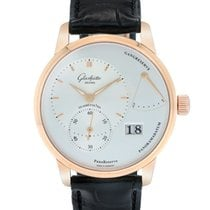 Glashütte Original 18K Rose Gold PanoReserve Mechanical Men's...