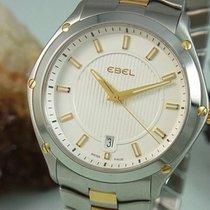 Ebel Classic Sport Stahl / Gold Box Und Papiere 42 Mm Herrenuh...
