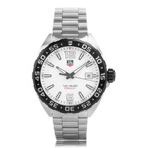 TAG Heuer Formula 1 Quartz Stainless Steel White Mens Watch...