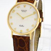 "Rolex ""Cellini"" Watch - Ls/n 1990 / 18k Yellow Gold /..."