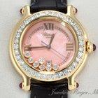 Chopard Happy Sport Medium Gelbgold 750 Diamanten Brillanten