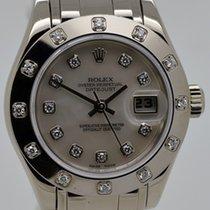 Rolex Datejust Lady, 18 K Weißgold, Ref. 80319, Bj. 2005