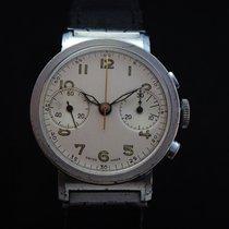 Anonymous Vintage Military Valjoux 22 Chronograph 40's