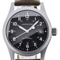 Hamilton Khaki Field Officer 38 Handwinding Green Dial