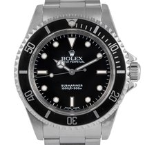 Rolex Steel Submariner Non-Date, Ref: 14060, With Papers