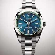 Rolex Eightday watch 116400GVBL Milgauss