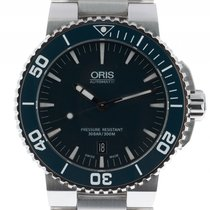 Oris Aquis Date Stahl Automatik Armband Stahl 43mm Ref.7337653...
