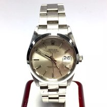 Rolex Oyster Perpetual Date Stainless Steel Men's Watch W/...