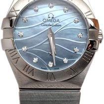 Omega Constellation Quartz 27mm 123.10.27.60.57.001